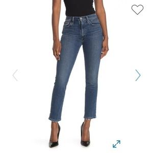 Joe's The Kass high rise straight ankle jeans
